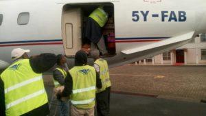 Transporting Ziwani DO Chicks